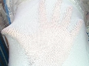 White Mesh Netting for Dance or costumes. Pefect for hosiery